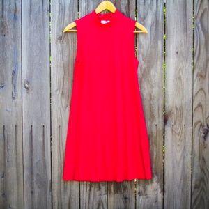 NWT Red Mini Shift Dress